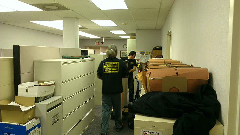 Office moving photo