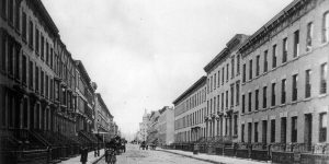 Upper Bloomfield Street between 9th & 10th Street, Hoboken, New Jersey (1900)